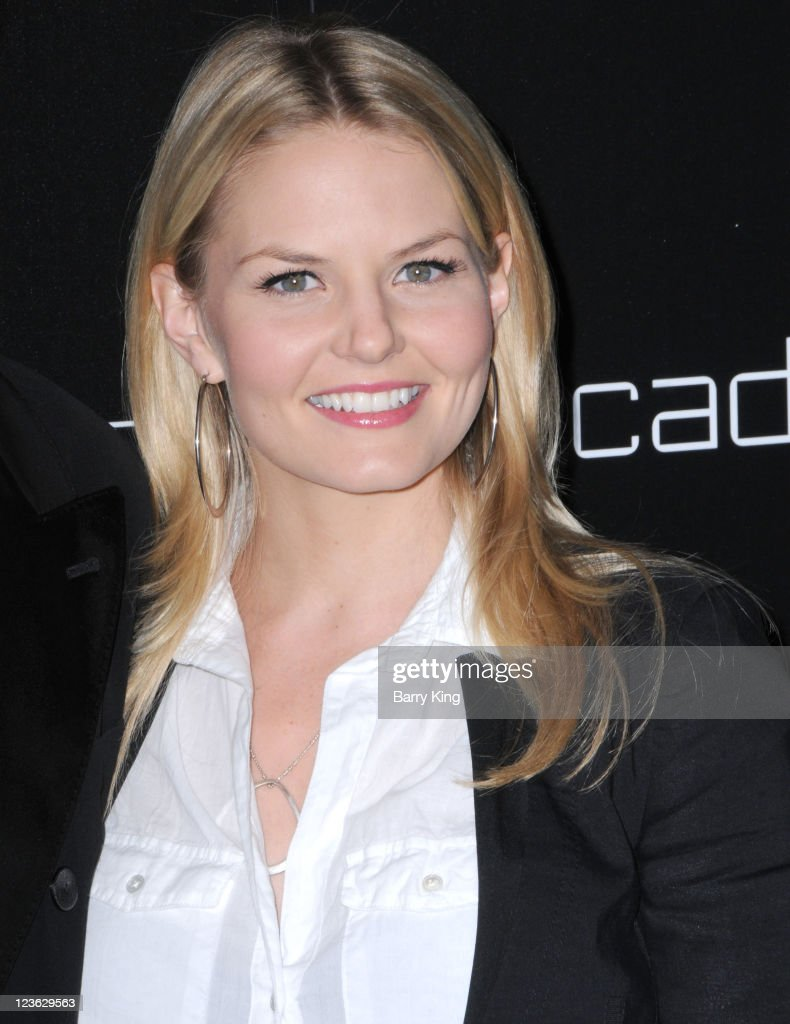 Actress Jennifer Morrison arrives at Decades Denim Launch Party at a private residence on November 2, 2010 in Beverly Hills, California.