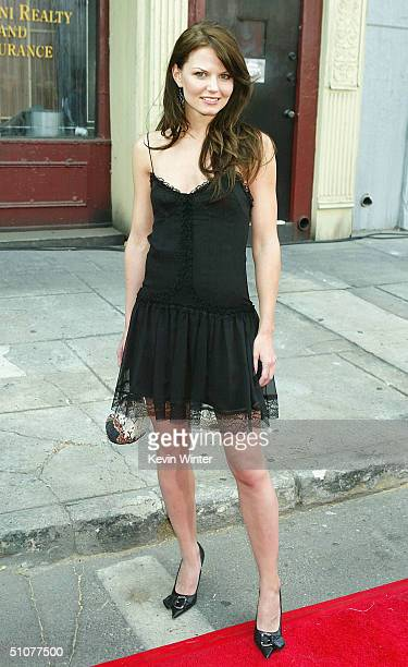 Actress Jennifer Morrison arrives at the 2004 Fox Network TCA Summer Party at Fox Studios on July 16 2004 in Los Angeles California