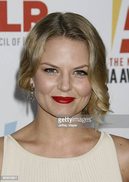Actress Jennifer Morrison arrives at the 2009 ALMA Awards at Royce Hall on the UCLA Campus on September 17 2009 in Westwood Los Angeles California