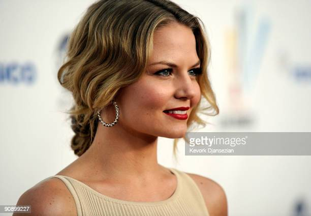Actress Jennifer Morrison arrives at the 2009 ALMA Awards held at Royce Hall on September 17 2009 in Los Angeles California