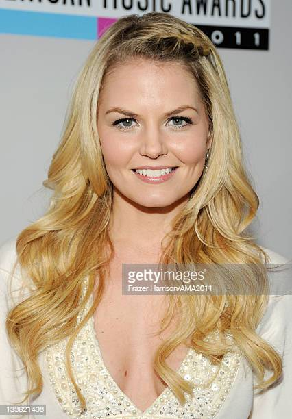 Actress Jennifer Morrison arrives at the 2011 American Music Awards held at Nokia Theatre LA LIVE on November 20 2011 in Los Angeles California