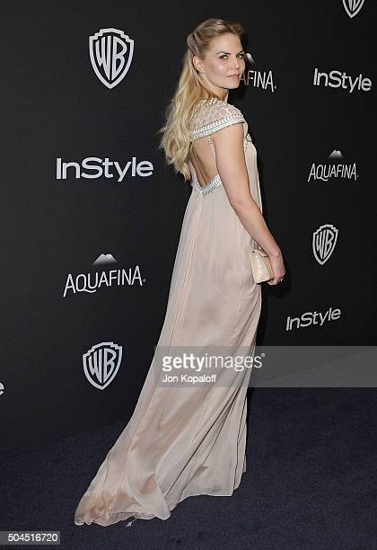 Actress Jennifer Morrison arrives at the 2016 InStyle And Warner Bros 73rd Annual Golden Globe Awards PostParty at The Beverly Hilton Hotel on...