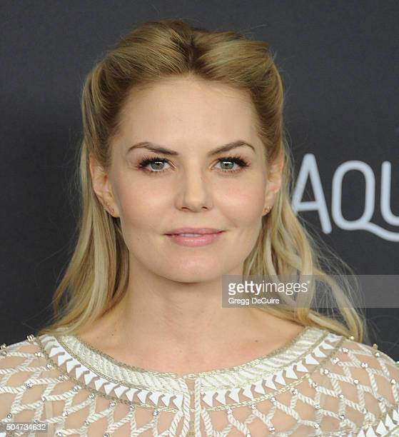 Actress Jennifer Morrison arrives at the 2016 InStyle And Warner Bros. 73rd Annual Golden Globe Awards Post-Party at The Beverly Hilton Hotel on...