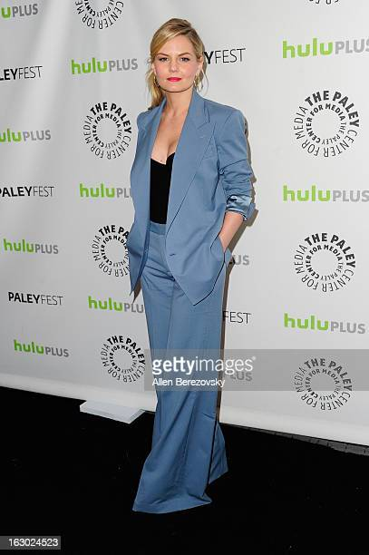 Actress Jennifer Morrison arrives at the 30th Annual PaleyFest The William S Paley Television Festival featuring Once Upon A Time at Saban Theatre on...