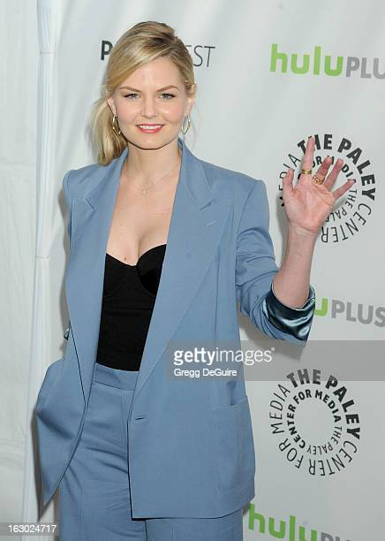Actress Jennifer Morrison arrives at the 30th Annual PaleyFest The William S Paley Television Festival featuring 'Once Upon A Time' at Saban Theatre...