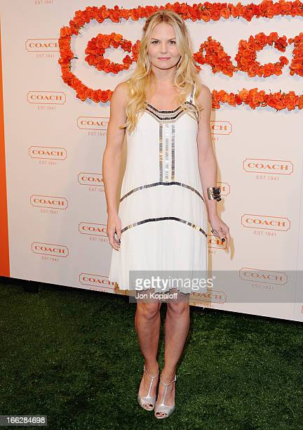 Actress Jennifer Morrison arrives at the 3rd Annual Coach Evening To Benefit Children's Defense Fund at Bad Robot on April 10 2013 in Santa Monica...
