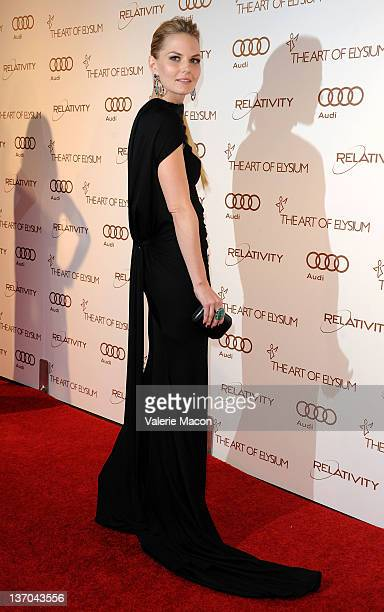 Actress Jennifer Morrison arrives at The Art Of Elysium's 5th Annual Heaven Gala on January 14 2012 in Los Angeles California