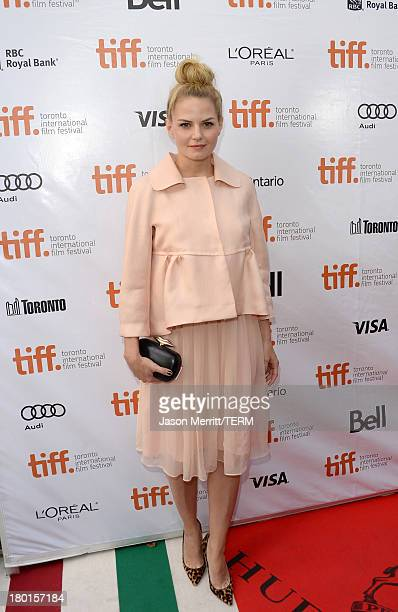 Actress Jennifer Morrison arrives at the 'August Osage County' Premiere during the 2013 Toronto International Film Festival at Roy Thomson Hall on...