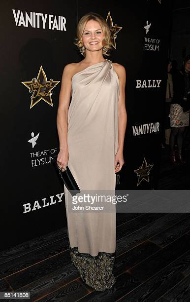 Actress Jennifer Morrison arrives at the Bally and Vanity Fair Hollywood Domino Game Night benefiting The Art of Elysium held at Andaz on February...