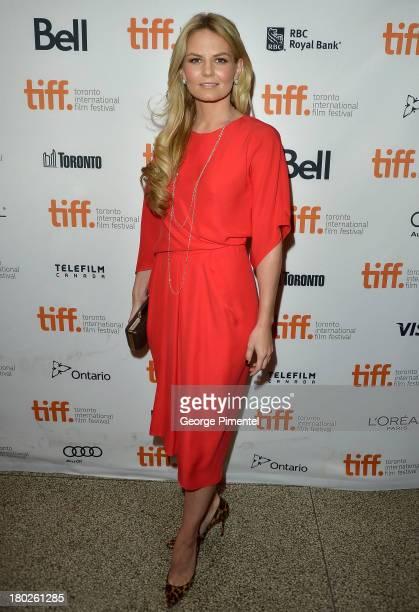 Actress Jennifer Morrison arrives at the Felony Premiere during the Toronto International Film Festival at The Elgin on September 10 2013 in Toronto...