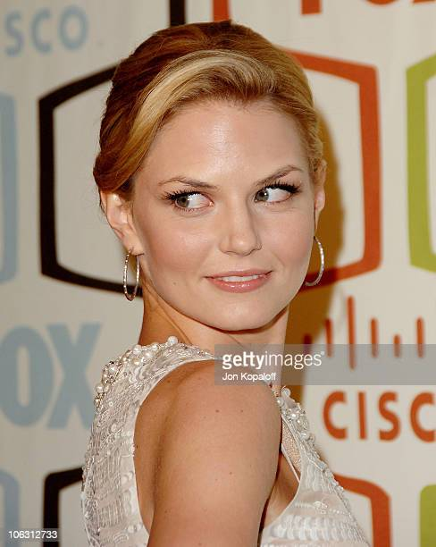 Actress Jennifer Morrison arrives at the 'FOX Fall EcoCasino Party' at Area on September 24 2007 in Los Angeles California
