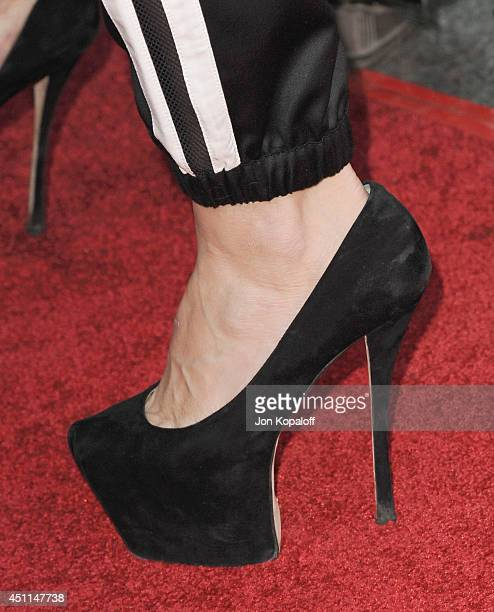 Actress Jennifer Morrison arrives at the Los Angeles Premiere 'Wish I Was Here' at the DGA on June 23 2014 in Hollywood California