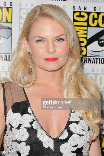 Actress Jennifer Morrison arrives at the 'Once Upon a Time' press room on July 11, 2015 in San Diego, California.