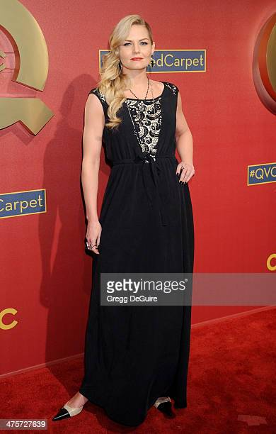 Actress Jennifer Morrison arrives at the QVC 5th Annual Red Carpet Style event at The Four Seasons Hotel on February 28 2014 in Beverly Hills...