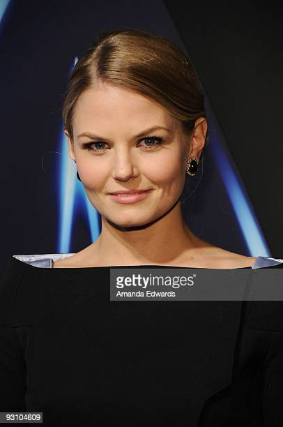 Actress Jennifer Morrison arrives at the Star Trek DVD and BluRay release party at the Griffith Observatory on November 16 2009 in Los Angeles...