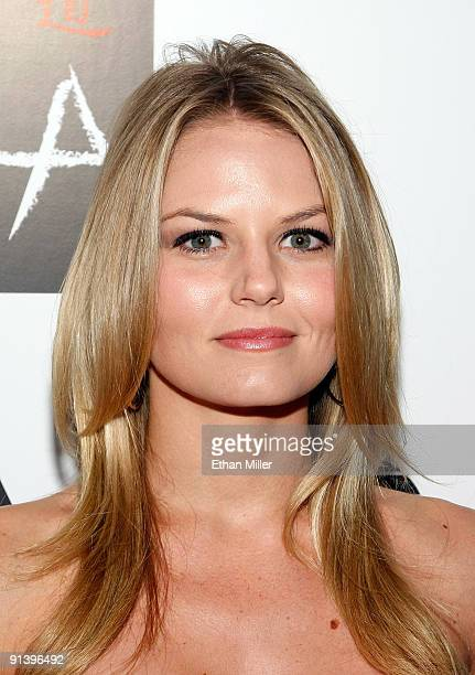 Actress Jennifer Morrison arrives at the Tao Nightclub at the Venetian Resort Hotel Casino during the club's four-year anniversary party October 3,...