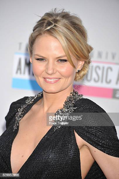 Actress Jennifer Morrison arrives the 40th American Music Awards held at Nokia Theatre L.A. Live.