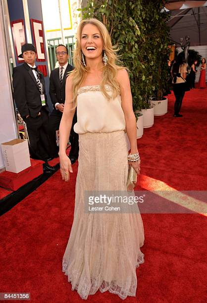 Actress Jennifer Morrison arrives to the TNT/TBS broadcast of the 15th Annual Screen Actors Guild Awards at the Shrine Auditorium on January 25 2009...