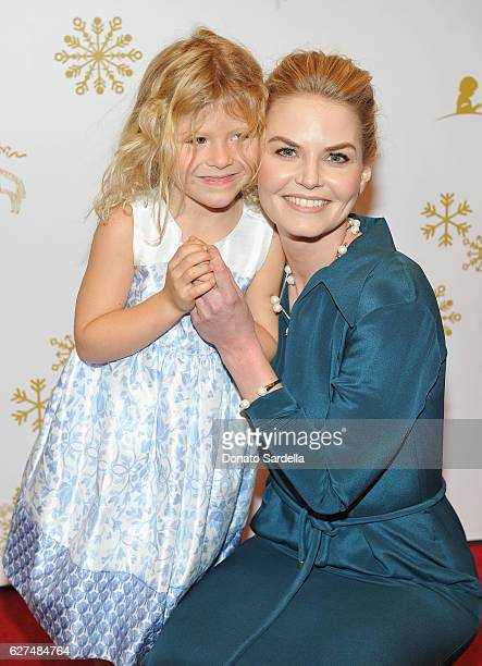 Actress Jennifer Morrison attends Brooks Brothers holiday celebration with St Jude Children's Research Hospital on December 3 2016 in Beverly Hills...