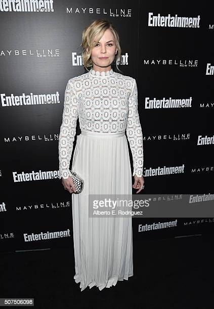 Actress Jennifer Morrison attends Entertainment Weekly's celebration honoring THe Screen Actors Guild presented by Maybeline at Chateau Marmont on...