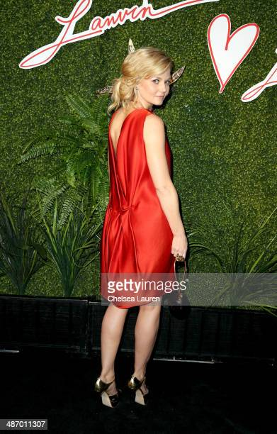 Actress Jennifer Morrison attends Lanvin And Living Beauty Host An Evening Of Fashion on April 26 2014 in Beverly Hills California