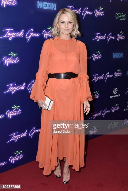 Actress Jennifer Morrison attends Neon hosts the New York premiere of Ingrid Goes West at Alamo Drafthouse Cinema on August 8 2017 in New York City