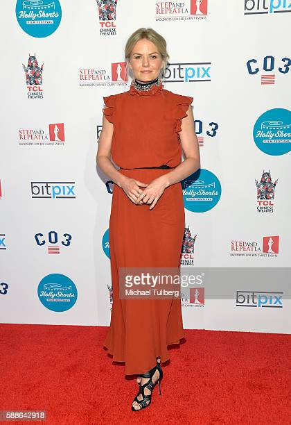 Actress Jennifer Morrison attends the 12th Annual HollyShorts Opening Night Celebration at TCL Chinese 6 Theatres on August 11, 2016 in Hollywood,...
