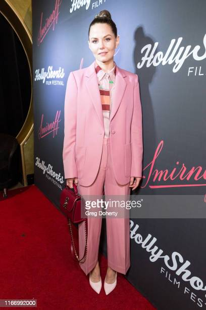 Actress Jennifer Morrison attends the 15th Annual Oscar Qualifying HollyShorts Film Festival Opening Night Smirnoff Pre-Reception on August 08, 2019...