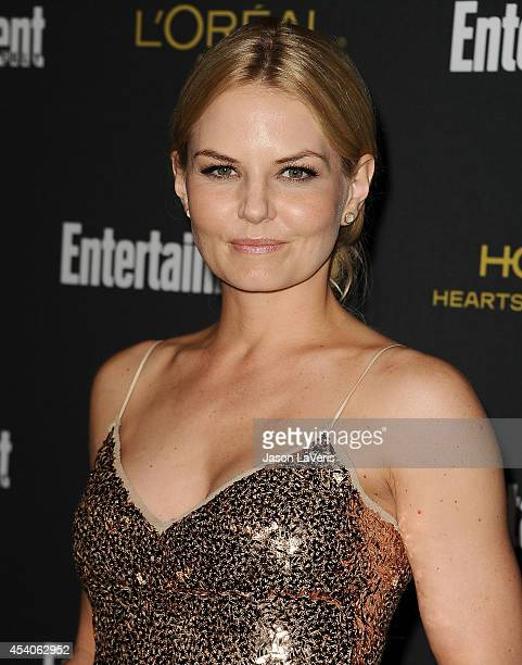 Actress Jennifer Morrison attends the 2014 Entertainment Weekly preEmmy party at Fig Olive Melrose Place on August 23 2014 in West Hollywood...