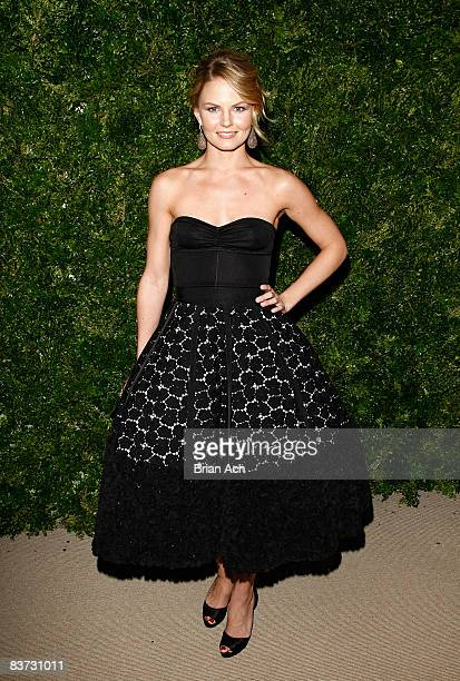 Actress Jennifer Morrison attends the 5th Anniversary of the CFDA/Vogue Fashion Fund at Skylight Studios on November 17 2008 in New York City