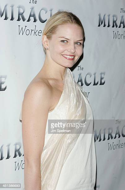 Actress Jennifer Morrison attends the after party for the Broadway opening of The Miracle Worker at Crimson on March 3 2010 in New York City