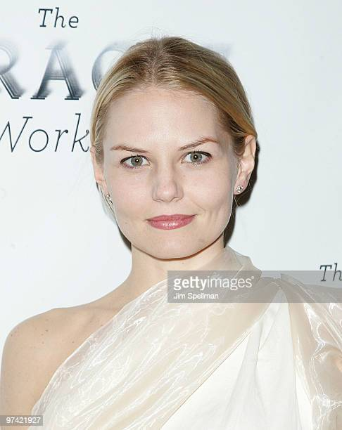 Actress Jennifer Morrison attends the after party for the Broadway opening of 'The Miracle Worker' at Crimson on March 3 2010 in New York City