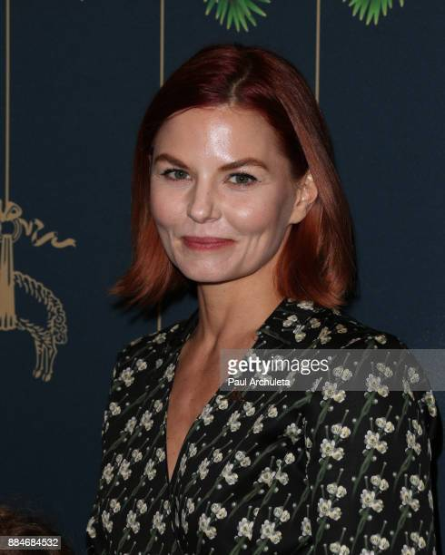 Actress Jennifer Morrison attends the Brooks Brothers and St.Jude Annual Holiday Party at Brooks Brothers Rodeo on December 2, 2017 in Beverly Hills,...
