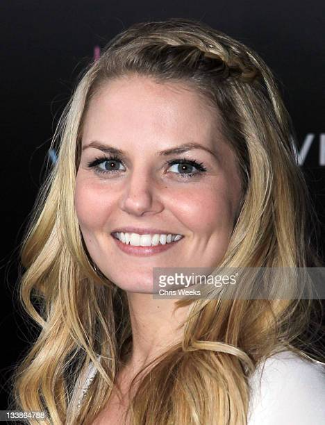 Actress Jennifer Morrison attends the Fiat Presents Jennifer Lopez's Official American Music Awards After Party at Greystone Manor Supperclub on...