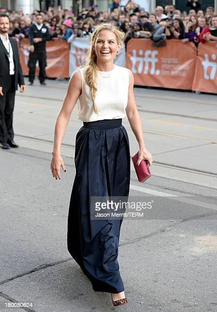 Actress Jennifer Morrison attends the Gravity premiere during the 2013 Toronto International Film Festival at Princess of Wales Theatre on September...