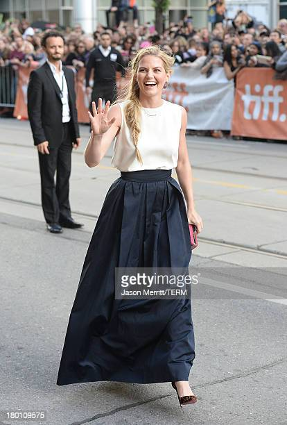 Actress Jennifer Morrison attends the 'Gravity' premiere during the 2013 Toronto International Film Festival at Princess of Wales Theatre on...