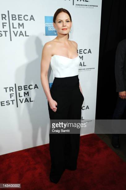 Actress Jennifer Morrison attends the 'Knife Fight' Special Screening during the 2012 Tribeca Film Festival at the Borough of Manhattan Community...