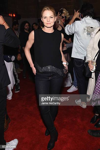 Actress Jennifer Morrison attends the Marc Jacobs Eyewear launch of #MJscreamteam celebrating the Spring 2016 Collection on April 19 2016 in New York...