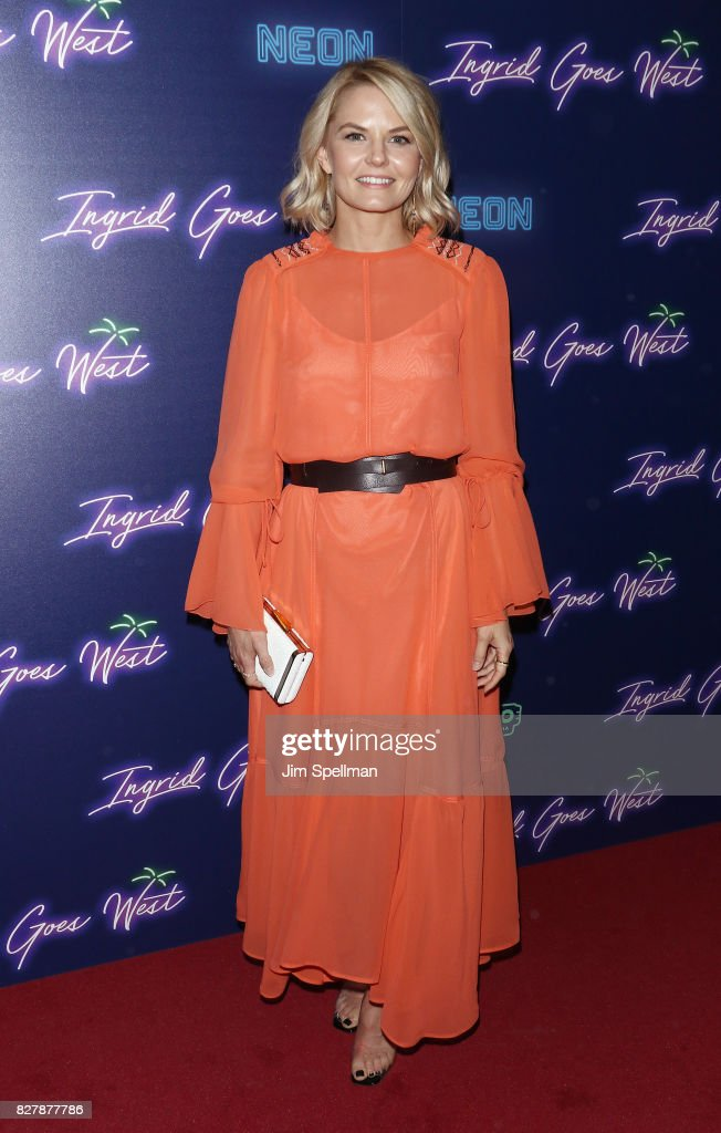 Actress Jennifer Morrison attends The New York premiere of 'Ingrid Goes West' hosted by Neon at Alamo Drafthouse Cinema on August 8, 2017 in the Brooklyn borough of New York City.