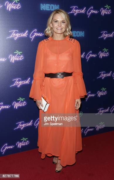 Actress Jennifer Morrison attends The New York premiere of 'Ingrid Goes West' hosted by Neon at Alamo Drafthouse Cinema on August 8 2017 in the...