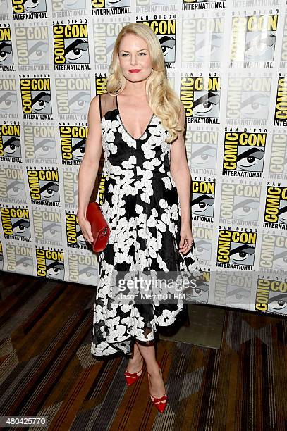 """Actress Jennifer Morrison attends the """"Once Upon A Time"""" press room during Comic-Con International 2015 at the Hilton Bayfront on July 11, 2015 in..."""