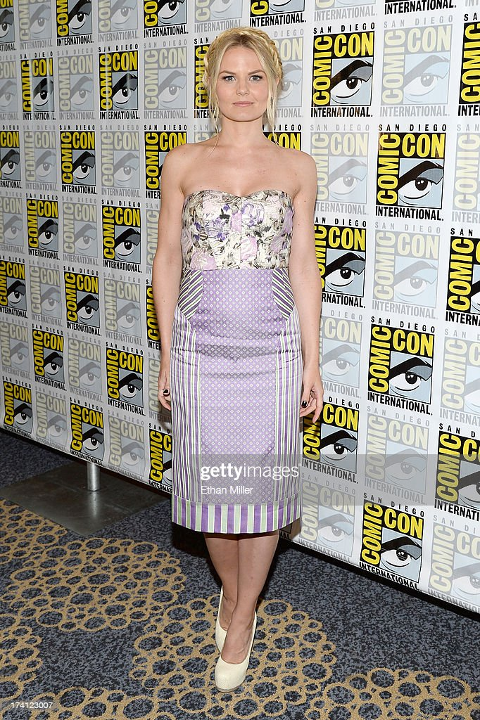 Actress Jennifer Morrison attends the 'Once Upon Upon a Time' press line during Comic-Con International 2013 at the Hilton San Diego Bayfront Hotel on July 20, 2013 in San Diego, California.