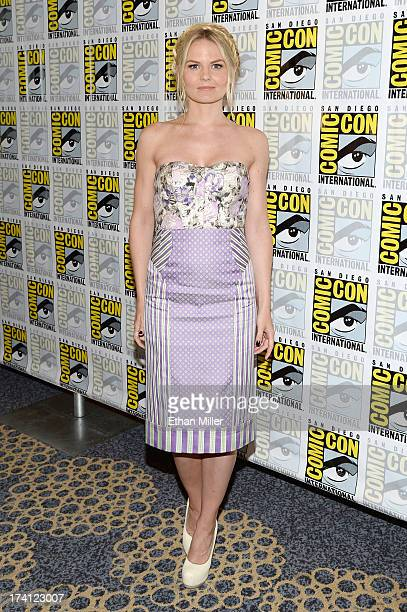 Actress Jennifer Morrison attends the Once Upon Upon a Time press line during ComicCon International 2013 at the Hilton San Diego Bayfront Hotel on...