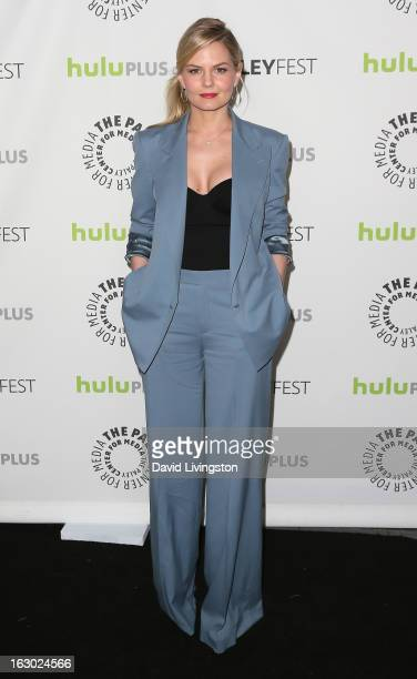 Actress Jennifer Morrison attends The Paley Center For Media's PaleyFest 2013 honoring Once Upon A Time at the Saban Theatre on March 3 2013 in...