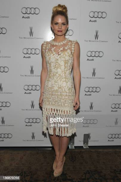Actress Jennifer Morrison attends the party hosted by the Weinstein Company and Audi to Celebrate Awards Season at Chateau Marmont on January 11 2012...