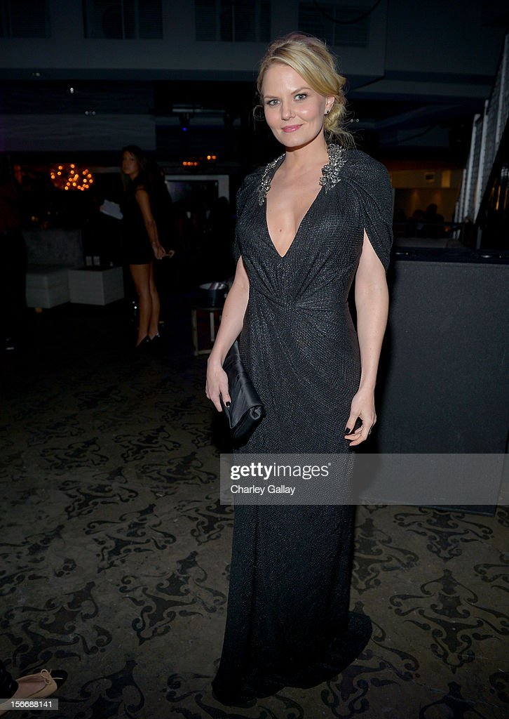 Actress Jennifer Morrison attends the Rolling Stone Magazine Official 2012 American Music Awards VIP after party presented by Nokia and Rdio at Rolling Stone Restaurant And Lounge on November 18, 2012 in Los Angeles, California.