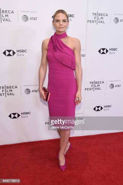 Actress Jennifer Morrison attends the screening of 'Back Roads' during the Tribeca Film Festival at Cinepolis Chelsea on April 20 2018 in New York...