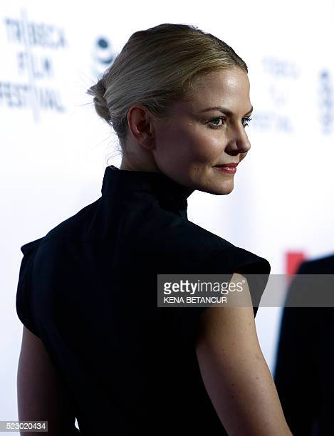 Actress Jennifer Morrison attends the 'Taxi Driver' 40th Anniversary Celebration during the 2016 Tribeca Film Festival at The Beacon Theatre in New...