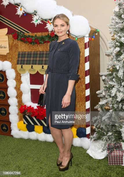 Actress Jennifer Morrison attends the the Brooks Brothers annual holiday celebration in Los Angeles to Benefit St Jude at the Beverly Wilshire Four...