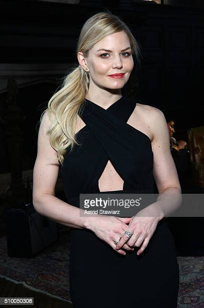 Actress Jennifer Morrison attends the TRESemme at Mara Hoffman A/W16 Presentation at High Line Hotel The Refectory on February 13 2016 in New York...